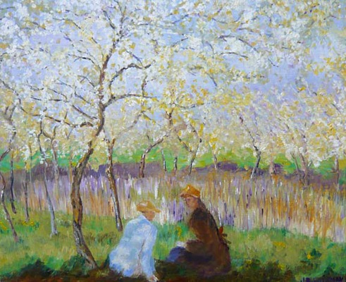 Julie Wileman after Monet -